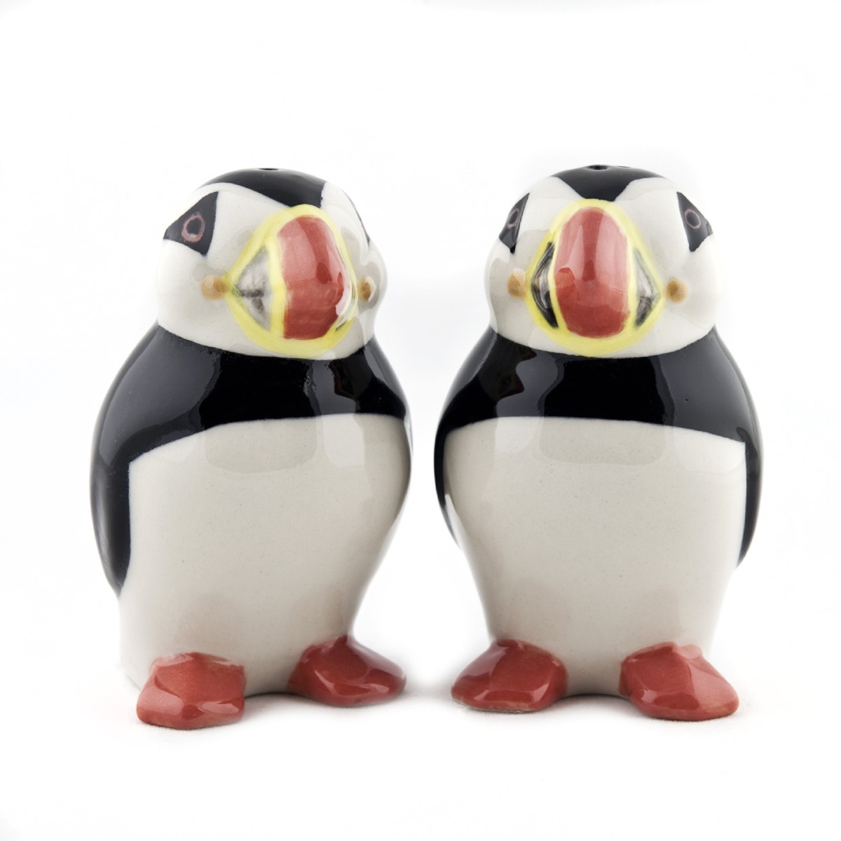 Fantastical Bird Salt And Pepper Shakers. Puffin Salt  Pepper Shakers The Owl Barn Gift Collection